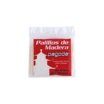 PALILLO REDONDO DE DOS PUNTAS 25 BOLSITAS